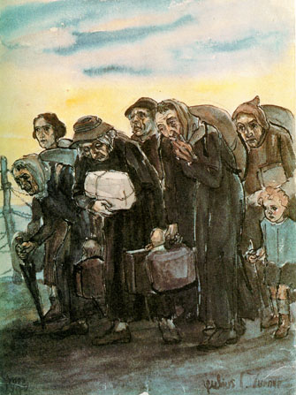 Julius Turner la déportation