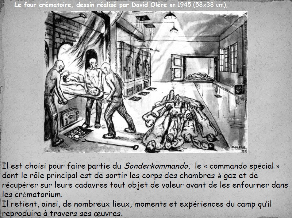 Histoire des arts david ol re coll ge robert le frison - Histoire des arts la chambre des officiers ...