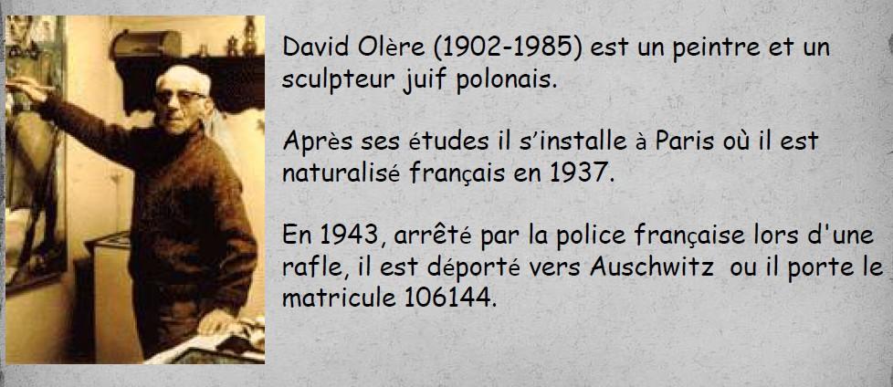 biographie et photos de David Olère1