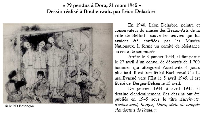 dessins de Léon Delabre dans le camp de Buckenwald1