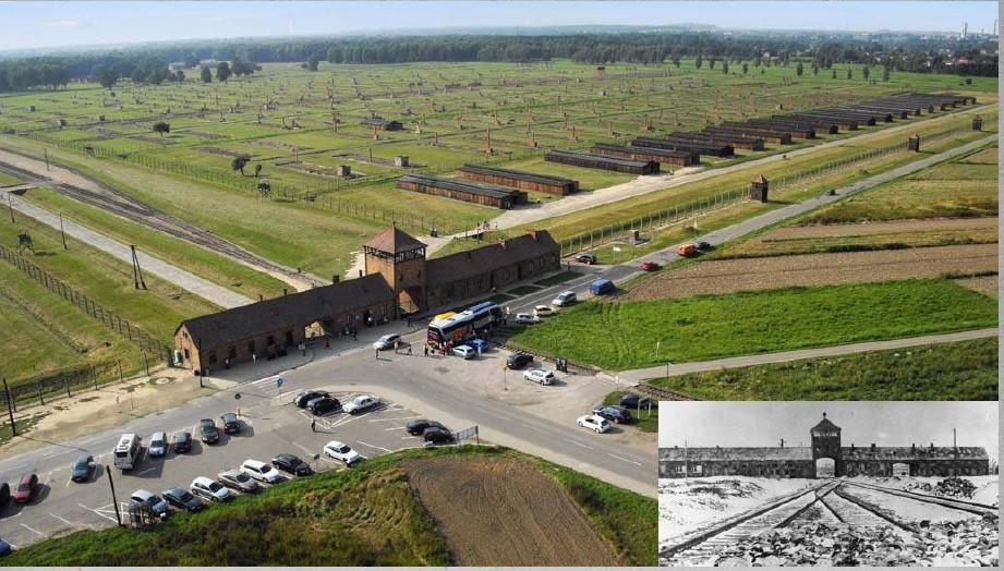 photos du camp d'Auschwitz1