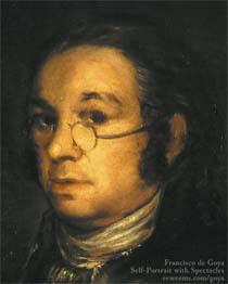 Goya autoportrait