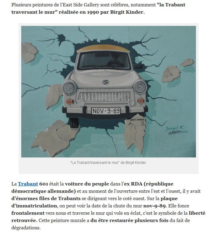 La Trabant de Birgit Kinder