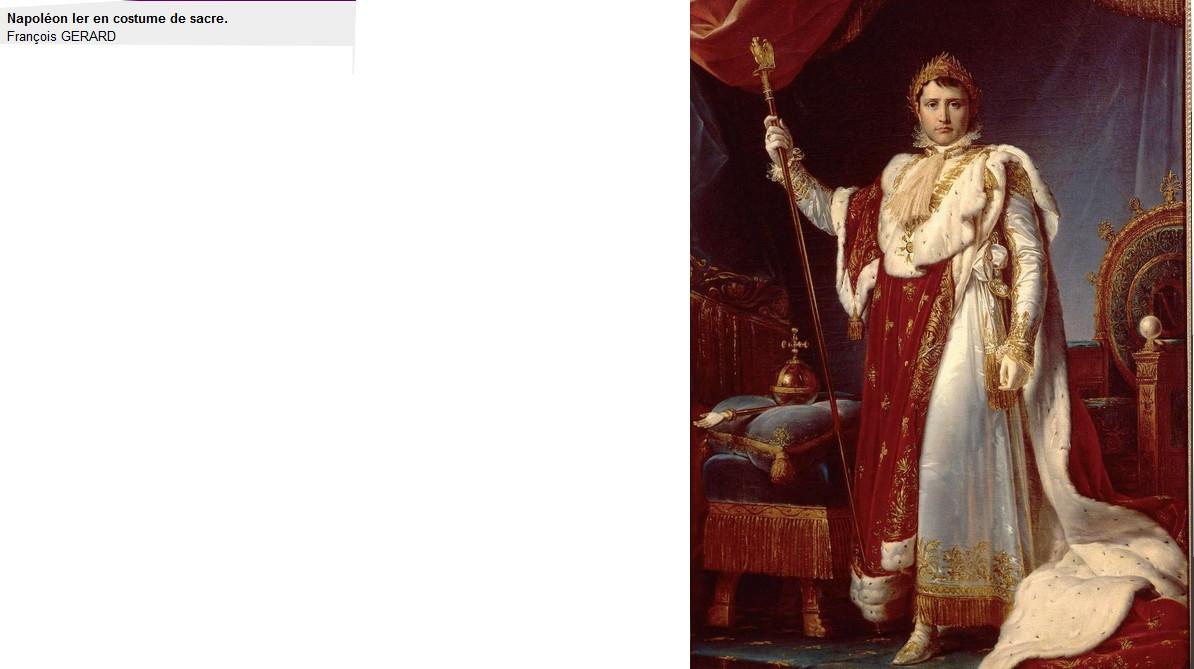 Napoléon 1er par François Gérard