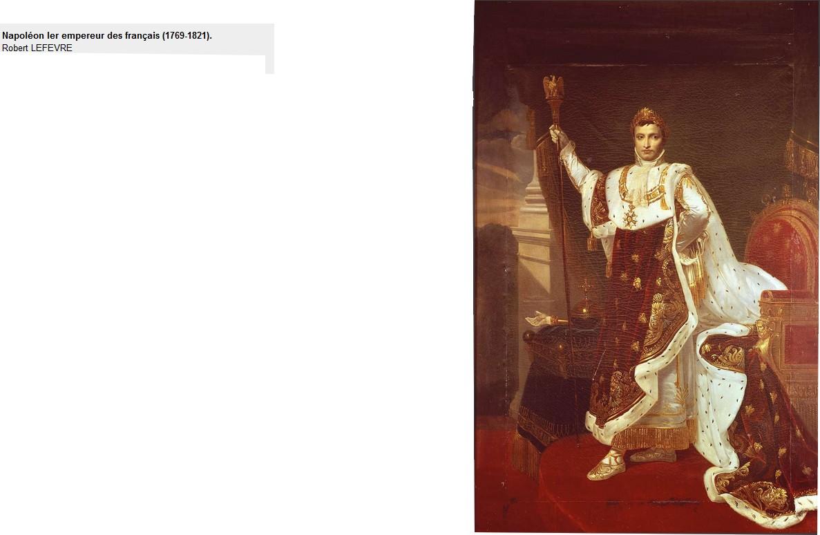 Napoléon 1er par Robert Lefèvre