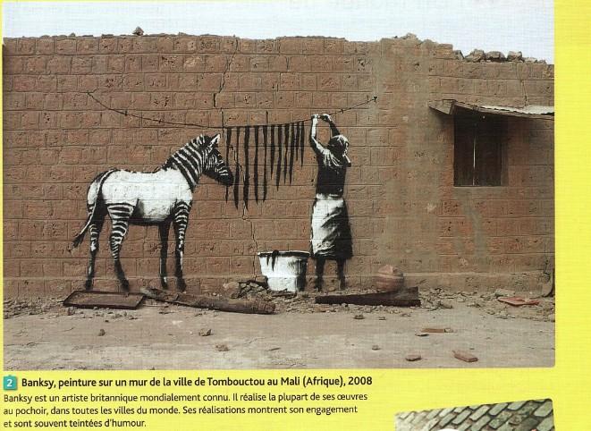 autre oeuvre de Banksy