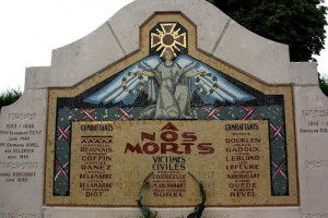 monument aux morts de Dernancourt