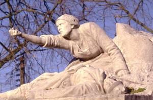 monument aux morts pacifiste de Péronne dans la Somme