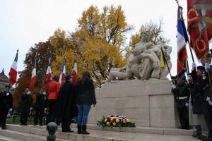 monument aux morts pacifiste de Strasbourg