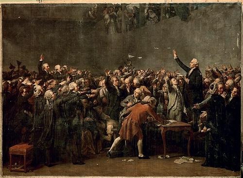 serment du jeu de paume d'Auguste Couder 1848